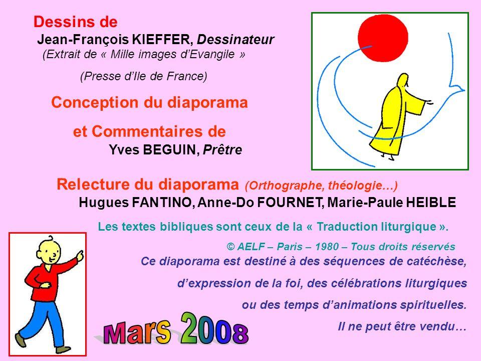 Mars 2008 Dessins de Conception du diaporama et Commentaires de