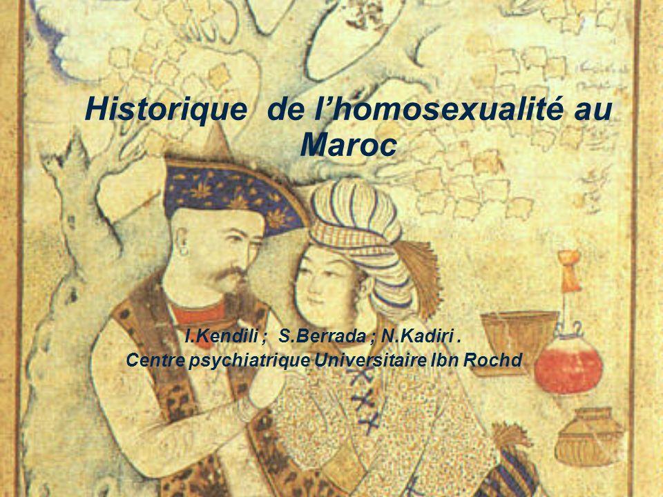Historique de l'homosexualité au Maroc