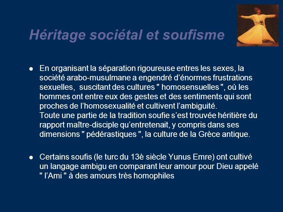 Héritage sociétal et soufisme