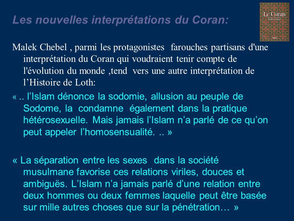 Les nouvelles interprétations du Coran: