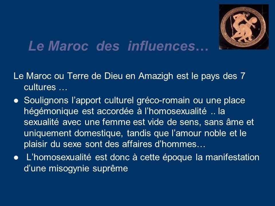 Le Maroc des influences…
