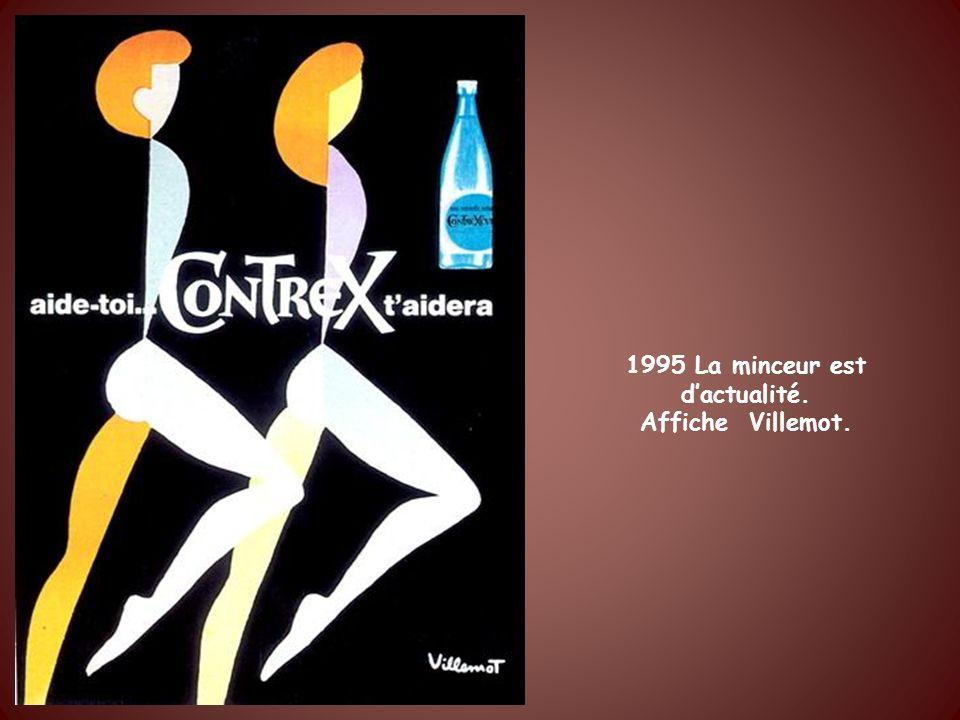 1995 La minceur est d'actualité.