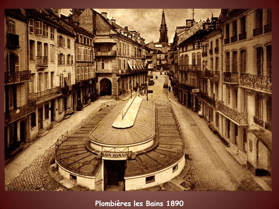 Plombières les Bains 1890