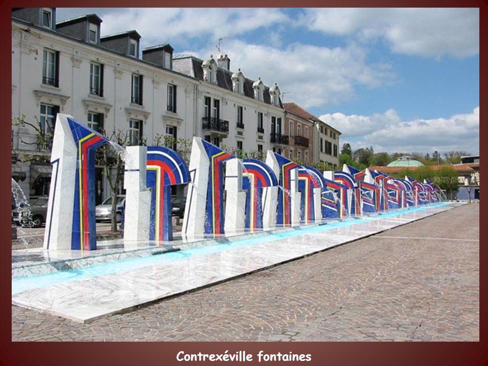 Contrexéville fontaines