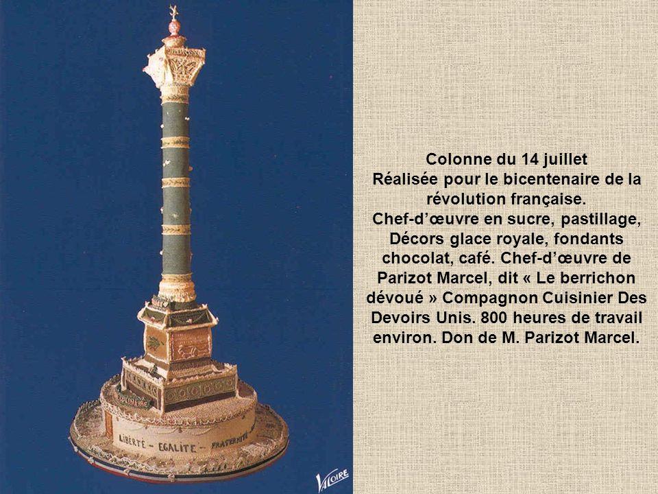 Colonne du 14 juillet Réalisée pour le bicentenaire de la révolution française.