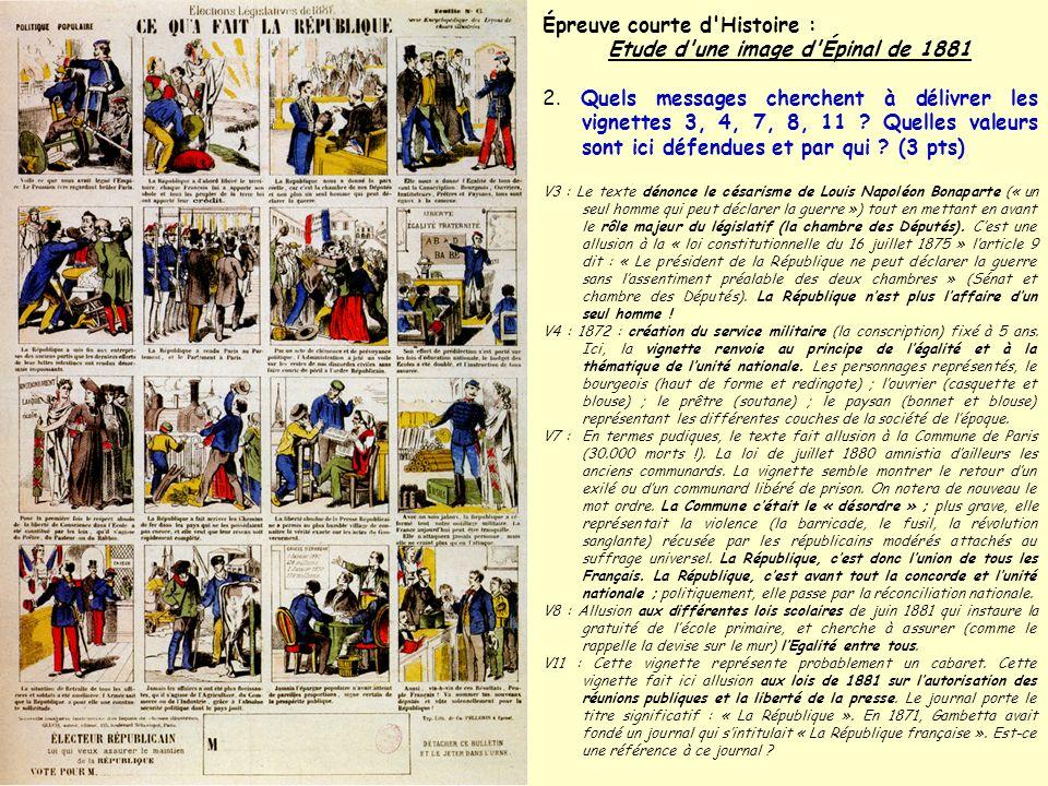 Etude d une image d Épinal de 1881