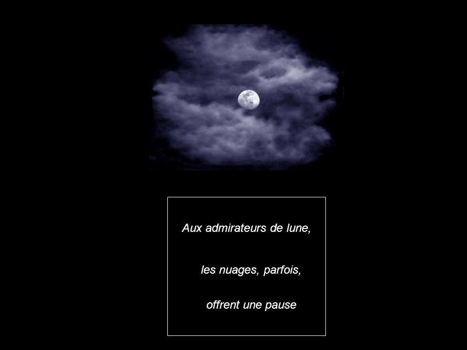 Aux admirateurs de lune,