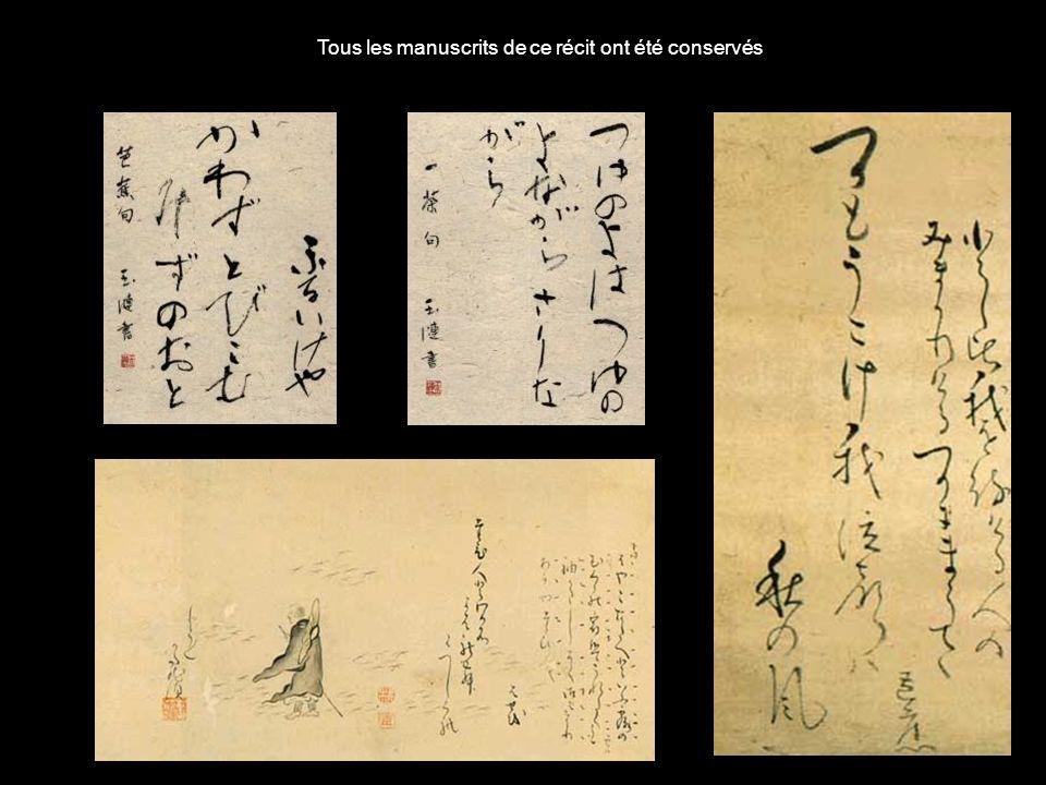 Tous les manuscrits de ce récit ont été conservés