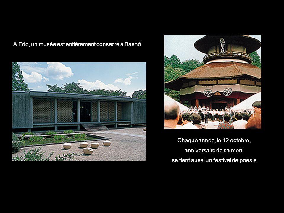A Edo, un musée est entièrement consacré à Bashô