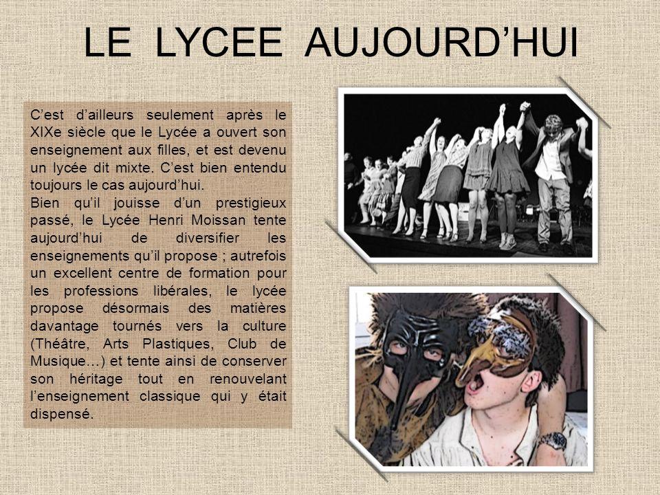LE LYCEE AUJOURD'HUI