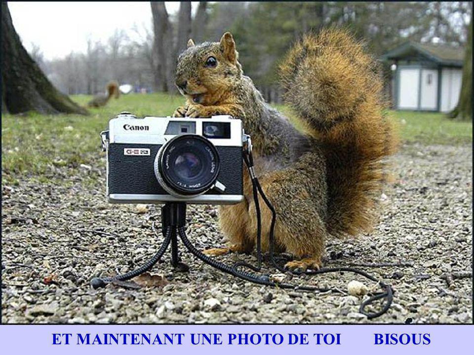 ET MAINTENANT UNE PHOTO DE TOI BISOUS