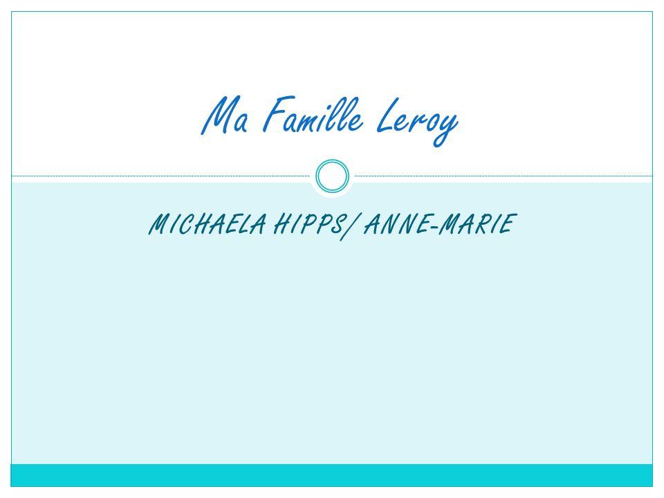 Michaela Hipps/ Anne-Marie