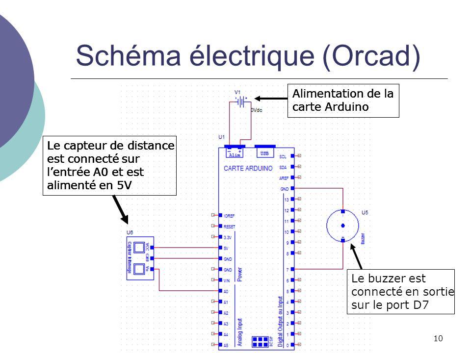 Schéma électrique (Orcad)