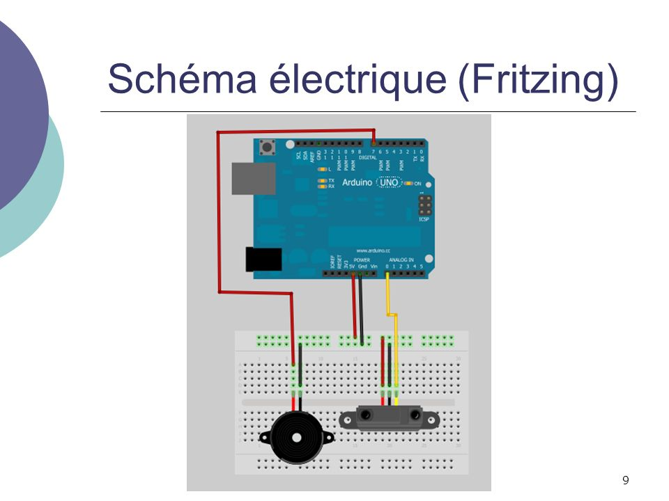 Schéma électrique (Fritzing)