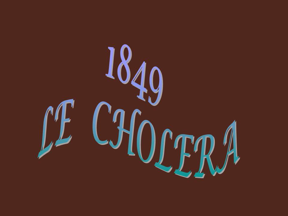 1849 LE CHOLERA