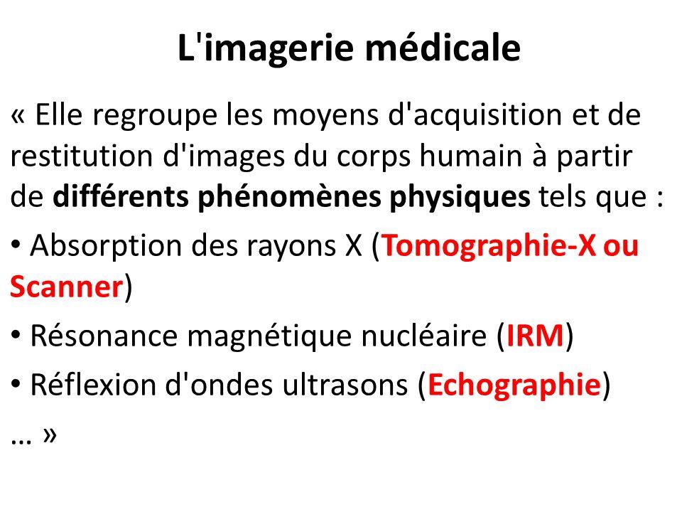 L imagerie médicale