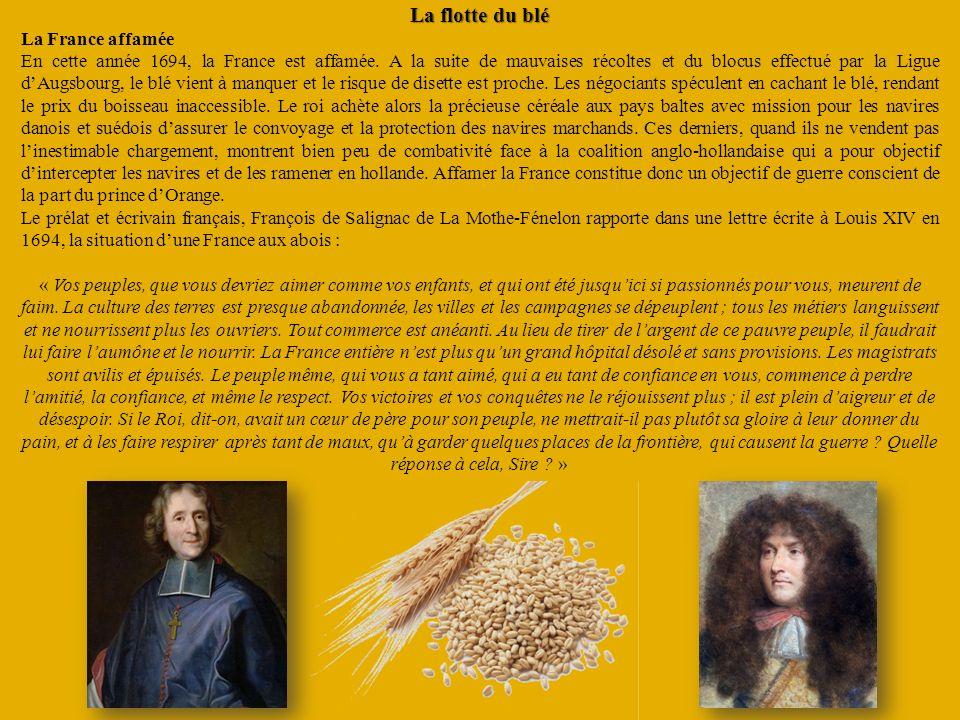 La flotte du blé La France affamée