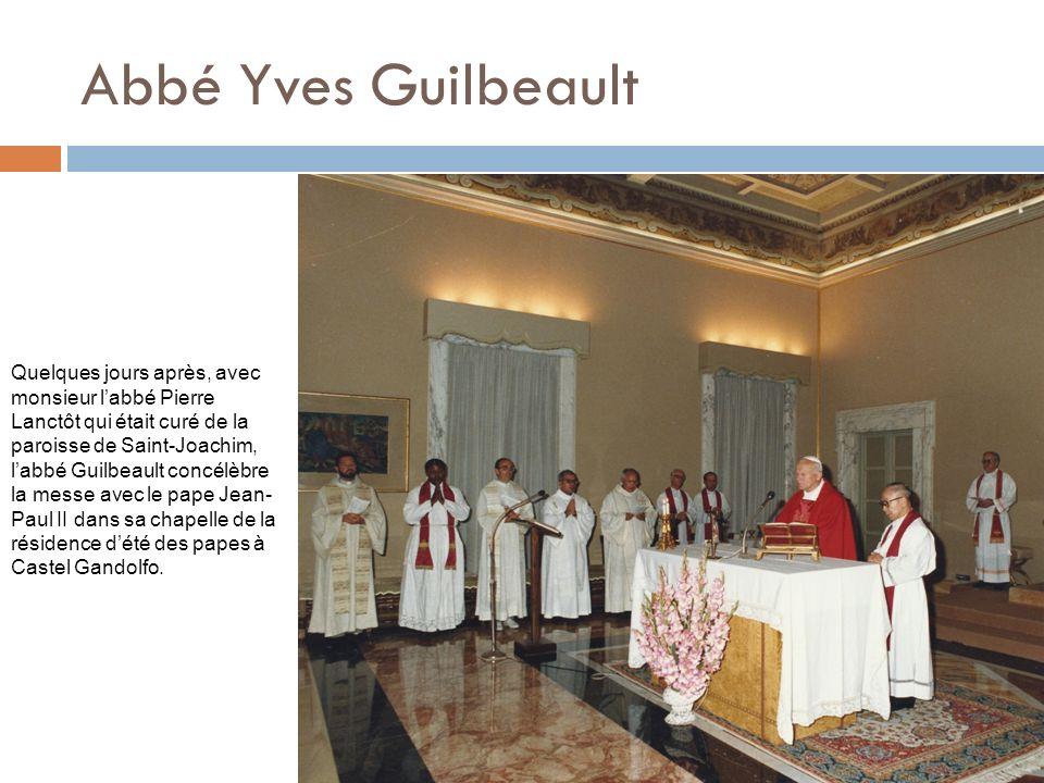 Abbé Yves Guilbeault