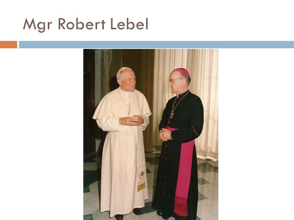 Mgr Robert Lebel