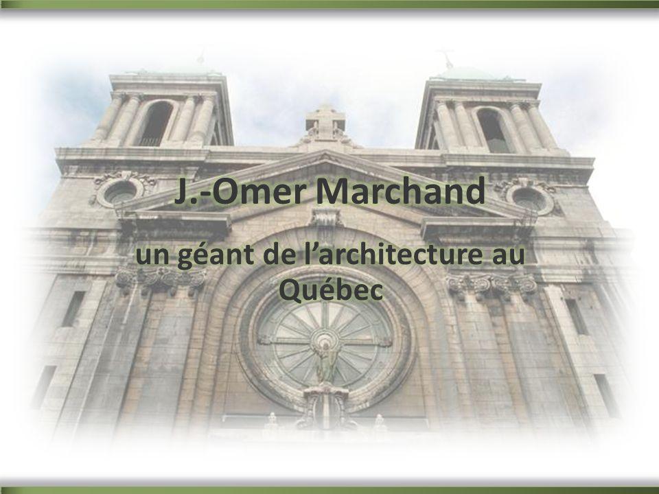 un géant de l'architecture au Québec
