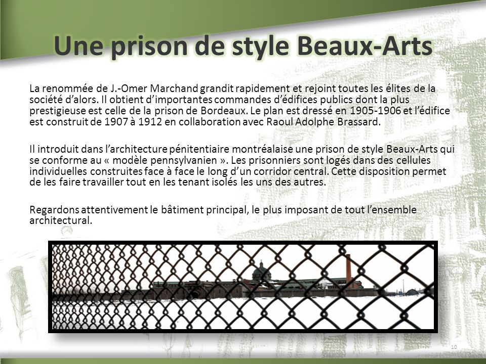 Une prison de style Beaux-Arts
