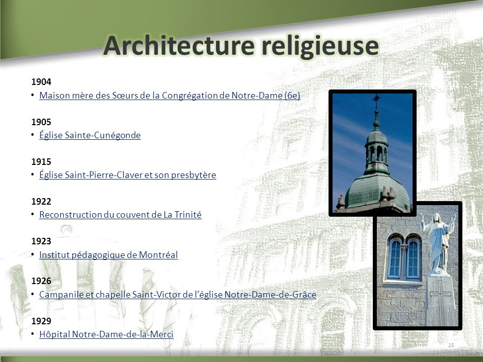 Architecture religieuse