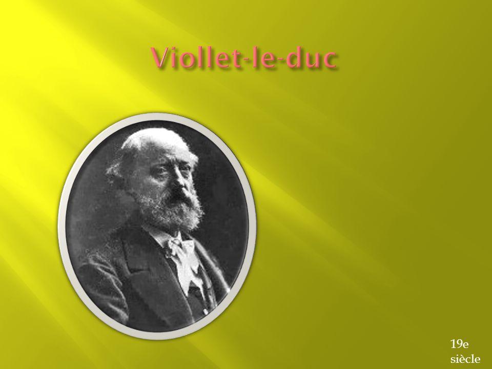 Viollet-le-duc 19e siècle