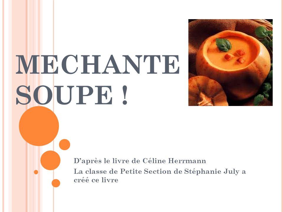 MECHANTE SOUPE ! D'après le livre de Céline Herrmann