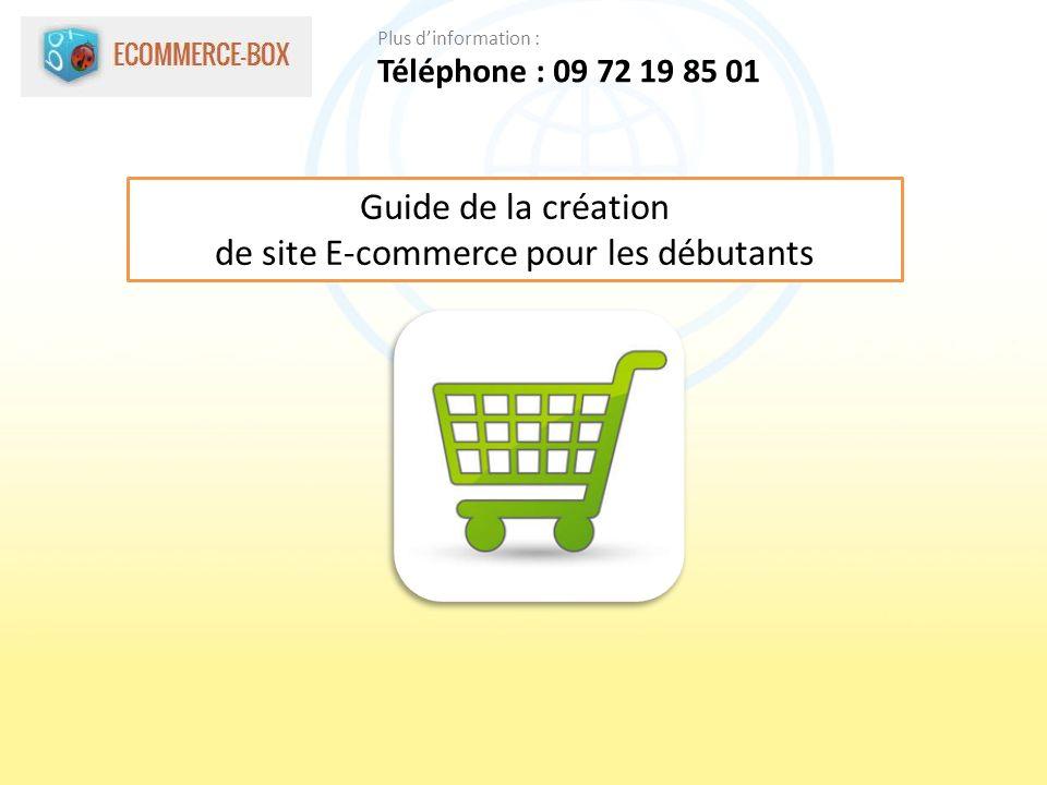 Guide de la création de site E-commerce pour les débutants