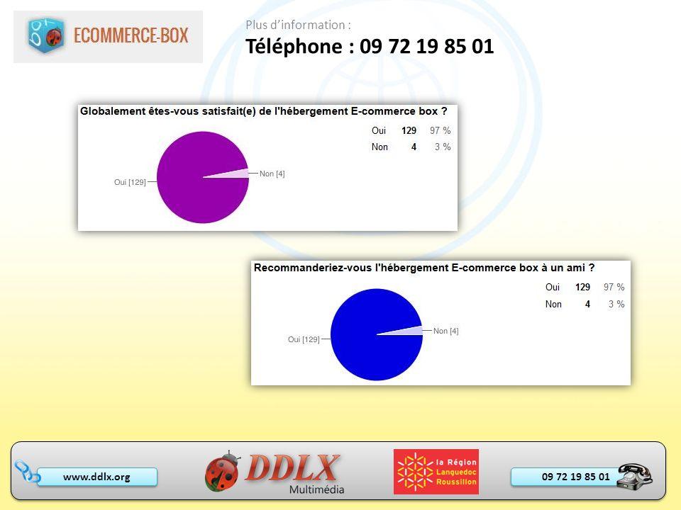 Téléphone : 09 72 19 85 01 Plus d'information : - Faire un listing -