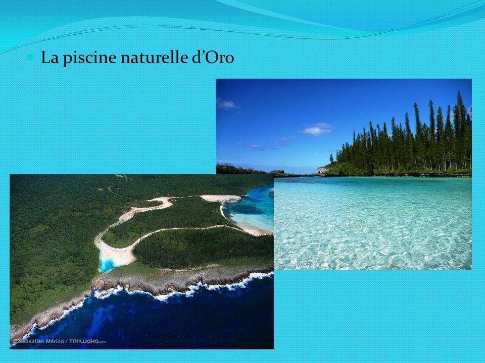 La piscine naturelle d'Oro