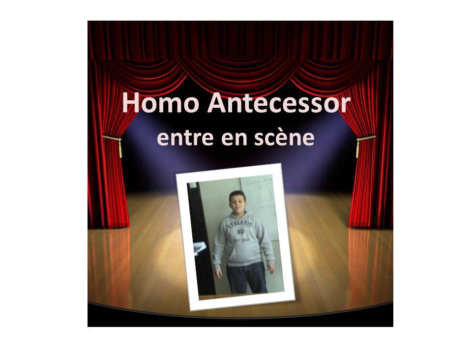 Homo Antecessor entre en scène