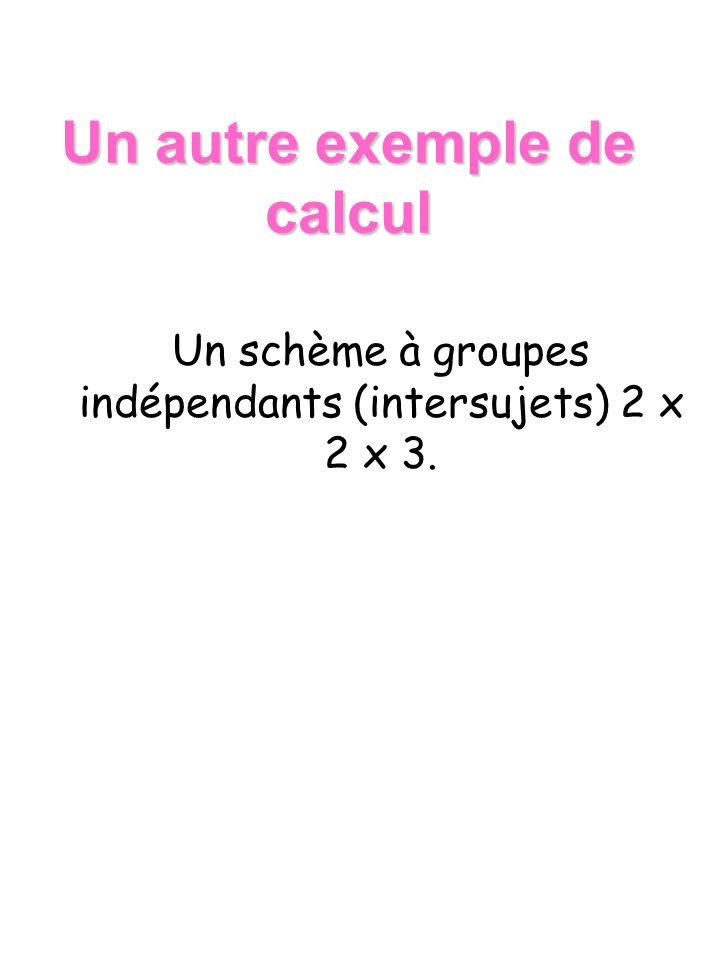 Un autre exemple de calcul