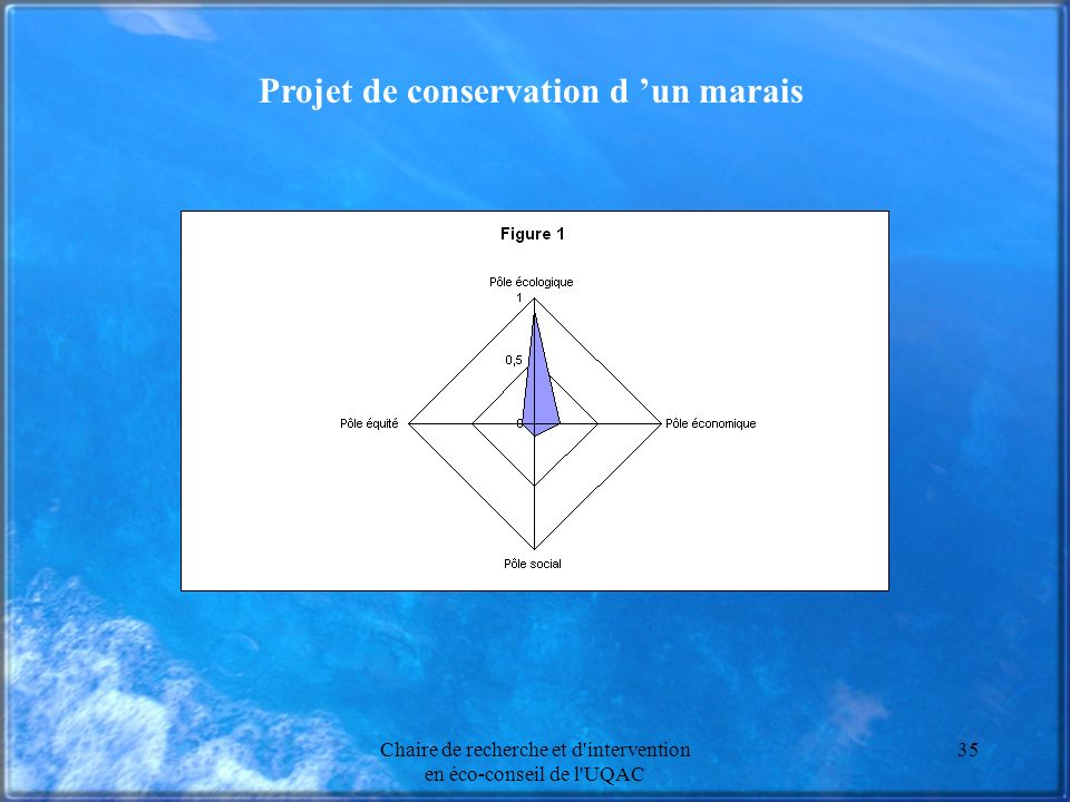 Projet de conservation d 'un marais