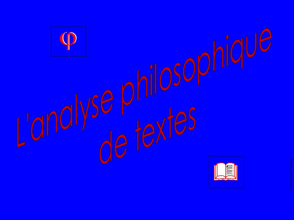 L analyse philosophique