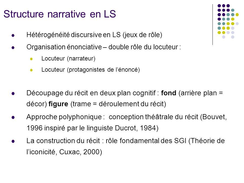 Structure narrative en LS