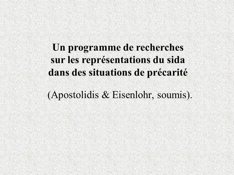 (Apostolidis & Eisenlohr, soumis).