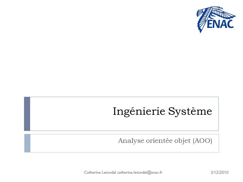 Analyse orientée objet (AOO)