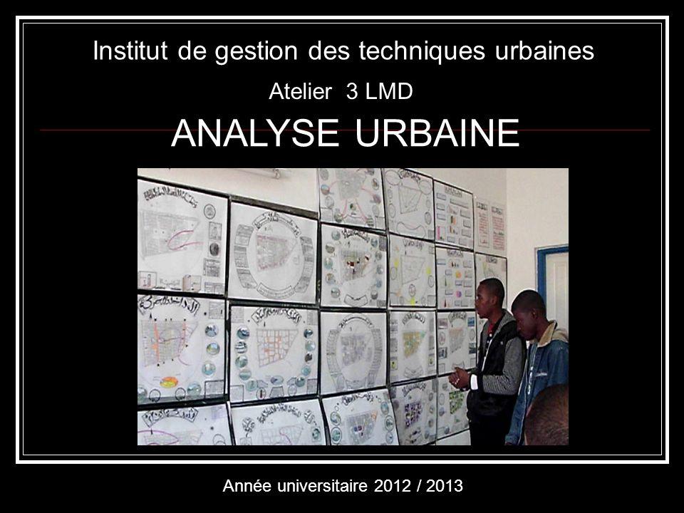 Institut de gestion des techniques urbaines