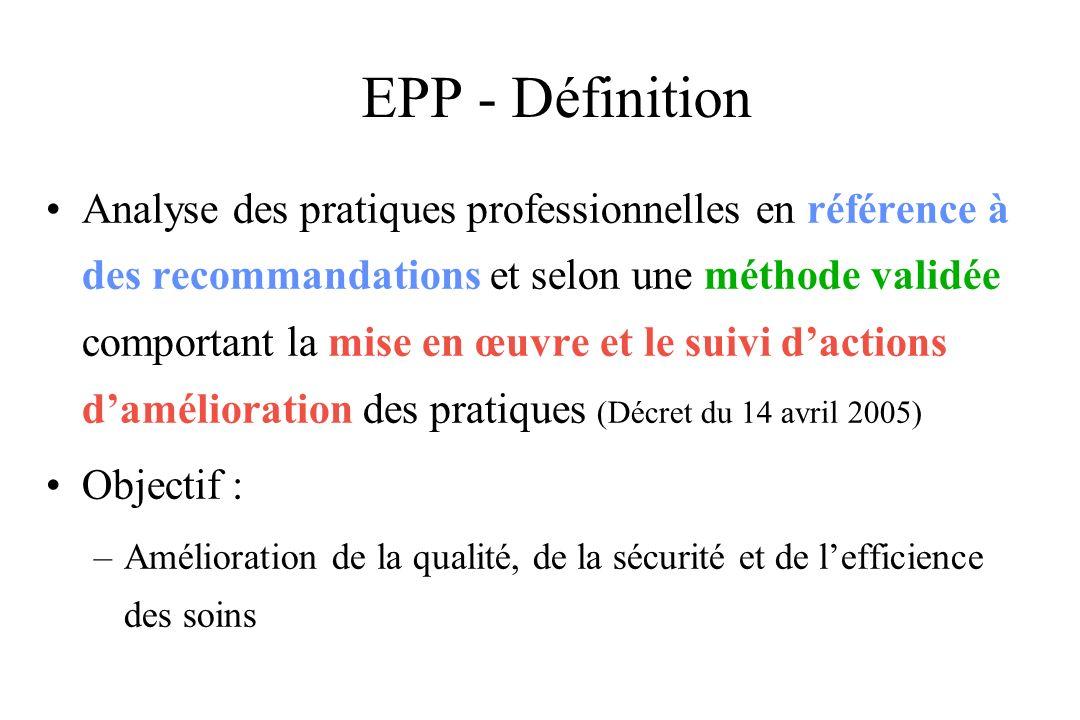 EPP - Définition