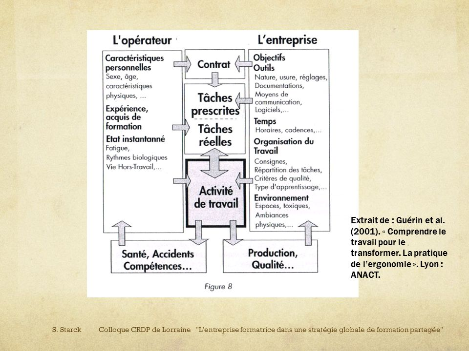 Extrait de : Guérin et al. (2001)