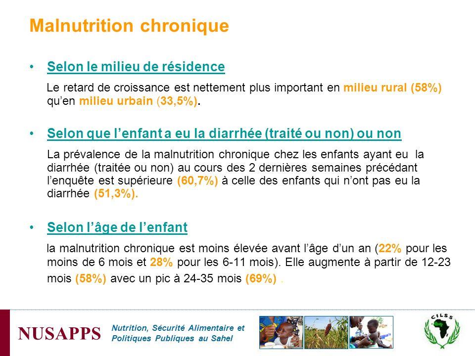 Malnutrition chronique