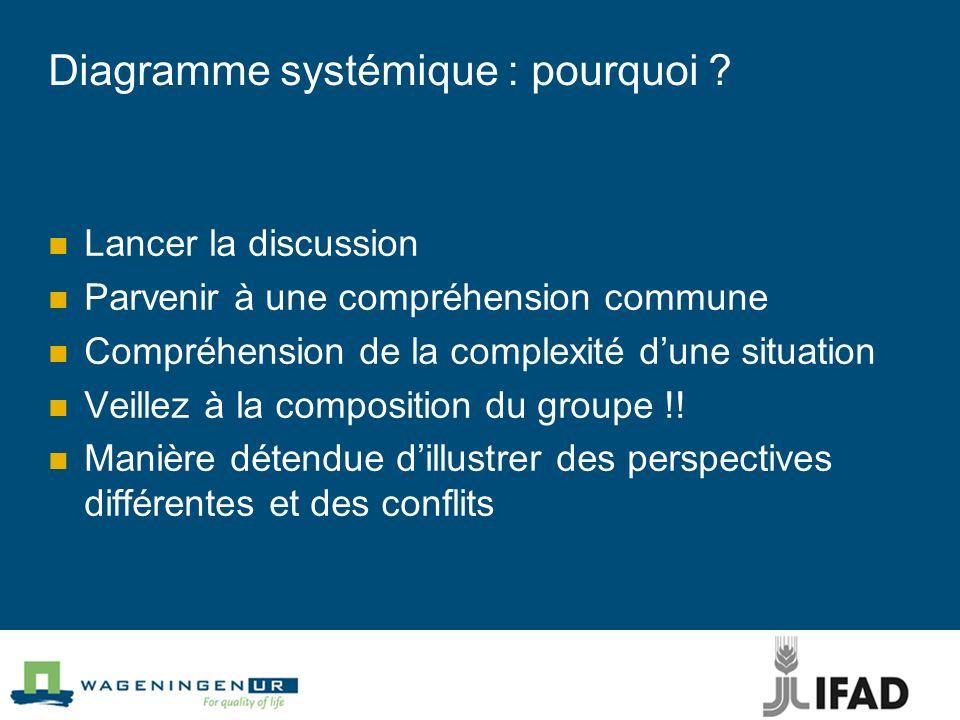 Diagramme systémique : pourquoi