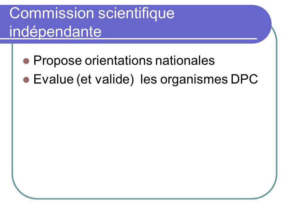 Commission scientifique indépendante