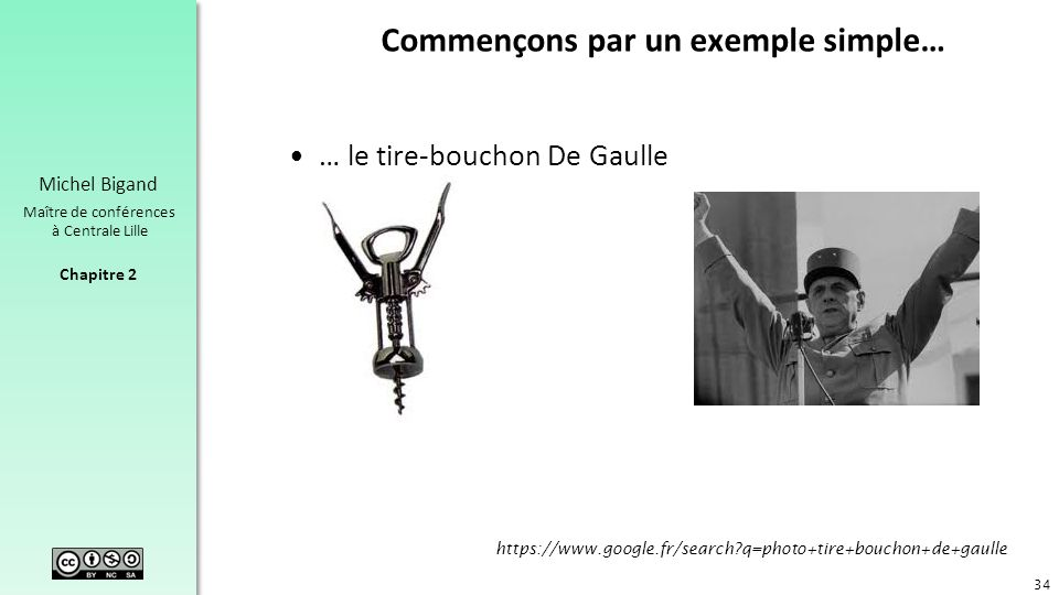 Commençons par un exemple simple…