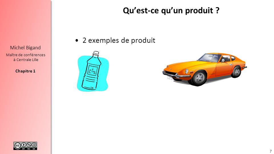 Qu'est-ce qu'un produit