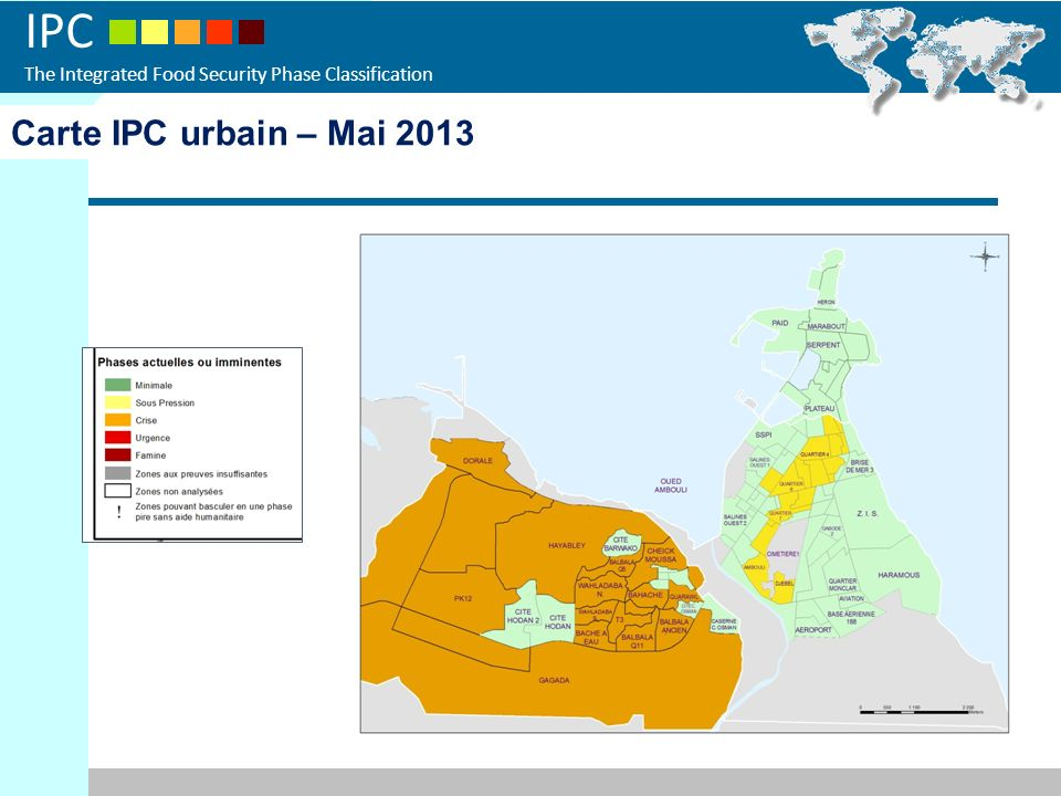 Carte IPC urbain – Mai 2013