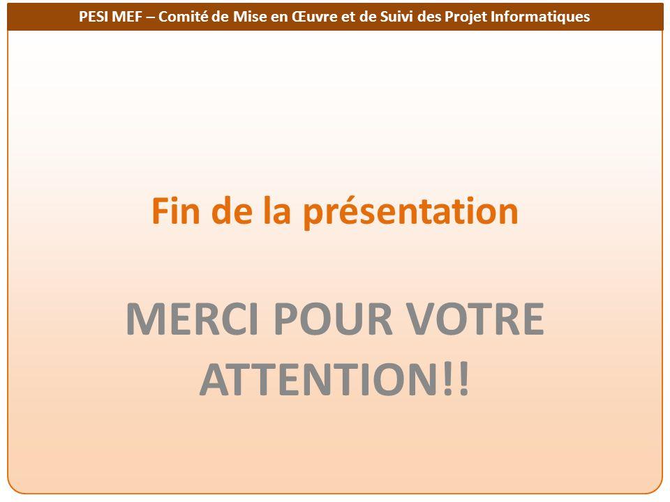 MERCI POUR VOTRE ATTENTION!!