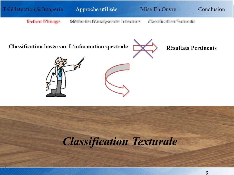 Classification Texturale