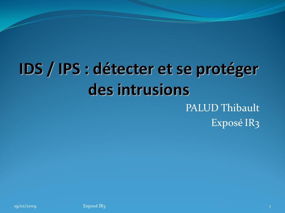 IDS / IPS : détecter et se protéger des intrusions